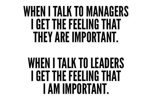 when i talk managers